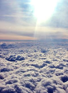 Ciel de Pologne, vue d'avion / Poland sky / Polska