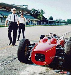 Enzo Ferrari - Monza 1961