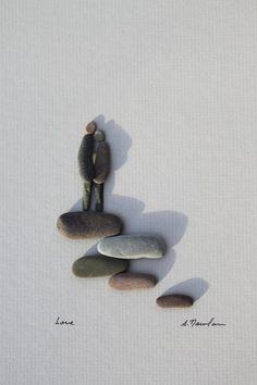 Pebble Art by 金秋