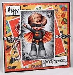 On Top of the World | Bat Stamp | Digital Stamps By Tiddly Inks