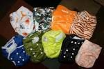 Kawaii diapers are a good bit cheaper than the other cloth diapers and just as good.
