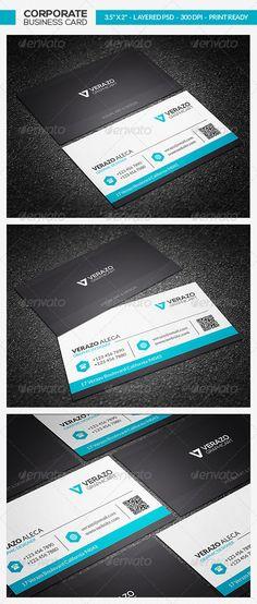 Clean Business Card 23