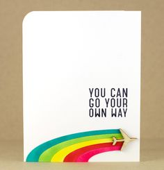 You Can Go Your Own Way by Nina (waffleflower.com), via Flickr