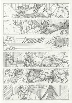 M.REDONDO- Comics: * Curso de Academia de Cómic: Ninja (lápiz)