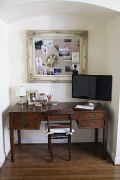 How I want my home office to look :) Perfectly Nitch-y and all