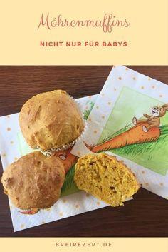 Möhrenmuffins   nicht nur für Babys