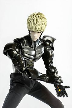 One Punch Man's Articulated Genos Figure Features Light-Up Eyes, Chest, Palms - Interest - Anime News Network