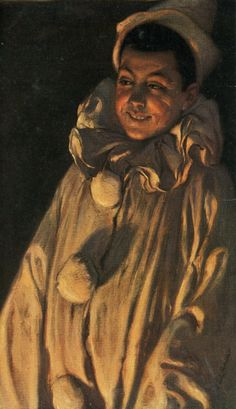 Paul Hoecker (German, 1854-1910) Pierrot. 1895 г.