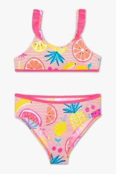 Discover the latest fashion! Bikini - 2 piece now at the C&A online shop – Fast delivery✓ Top quality✓ Great prices✓ Strap Bikini, Fruit Print, Bikinis, Swimwear, Girly Outfits, Rodeo, Stretch Fabric, Bikini Bottoms, Beachwear