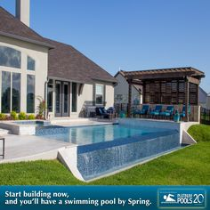 Don't wait! Get your pool by springtime. Start Now by calling Platinum Pools @ 281.870.1600 (Houston), 409.898.4995 (Beaumont), or 361.576.0183 (Victoria) for an appointment, or get a free quote by visiting www.platinumpools.com.  #swimmingpool #spa #tanningdeck #outdoorkitchen #firepits #firebowls #custompoolshouston #platinumpoolstexas