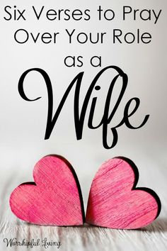 Bible Verses About Love:Our role as a wife is so important - and needs much prayer! Here are 6 verses you can add to your war room to pray over your role as a wife! by marian Marriage Prayer, Godly Marriage, Love And Marriage, Happy Marriage, Marriage Advice, Fierce Marriage, Healthy Marriage, Healthy Relationships, Marriage Devotional