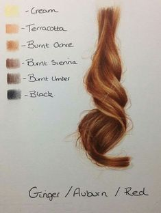 Drawing Of Hair Colored Pencil - How To Achieve Hair Colors Auburn Red Color Pencil Art How To Tutorial How To Draw Realistic Blonde Hair With Colored Pencils How To Draw Realistic Ha. Colouring Techniques, Drawing Techniques, Drawing Tips, Drawing Hair, Drawing Reference, Drawing Sketches, Pencil Drawings, Art Drawings, Horse Drawings