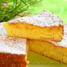 Torta di mele cremosa-ricetta torte-golosofia