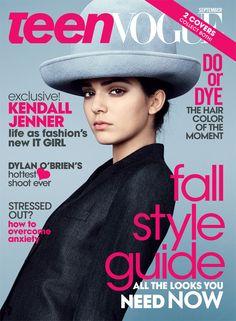 Kendall Jenner Lands September Issue, Covers Teen Vogue—Check It Out!  Kendall Jenner, Teen Vogue September 2014