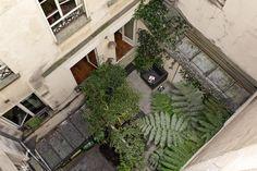 Terrasse parisienne vue de haut - Olivier Olindo Architecte