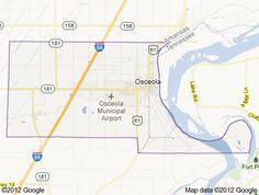 Monroe Township in Osceola, Mississippi County, Arkansas