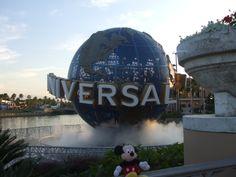 universal studios Florida and mickey