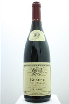 Louis Jadot (Domaine Gagey) Beaune Cent Vignes 2012. France, Burgundy, Beaune, Premier Cru. 4 Bottles á 0,75l. Estimate (11/2016): 200 USD (50 USD (1.218 CZK) / Bottle).