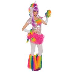 $57.99 - Rainbow Unicorn Costume – asylumzone