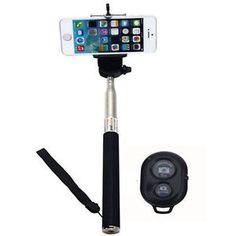 Selfie Stick Monopod Telescopic& Built-in Bluetooth Wireless Remote. http://goo.gl/VIS8Zq