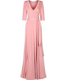 Women's 3/4 Sleeve Classic Paris Maxi Wrap Dress - Mauve - CD17WTLWCKH,Women's Clothing, Dresses, Casual  #Dresses #Clothing #Style #gifts Maxi Wrap Dress, Dress Up, Womens Clothing Stores, Clothes For Women, Women's Clothing, Beautiful Dresses, Nice Dresses, Women's Dresses, Casual Dresses