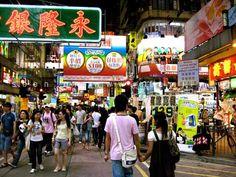 Những khu mua sắm nổi tiếng Hồng Kông
