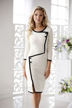 Swans Style is the top online fashion store for women. Shop sexy club dresses, jeans, shoes, bodysuits, skirts and more. Elegant Dresses, Casual Dresses, Petite Dresses, Classy Dress, Classy Outfits, Work Dresses For Women, Clothes For Women, Dress Outfits, Fashion Dresses