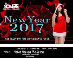 New Year Party with a Renowned Bollywood DJ and Producer Dj Sonee at the Biggest open air dance floor, in Jaipur. Here the guest can enjoy the best of New Year party in the city with best of music, dance, food & drinks. For Passes and Booking - +919587495555, +919983778555 Visit- www.knock-knock.in