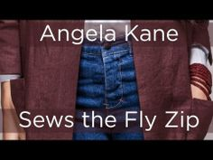 How to Sew a Fly Zip, Make Your Own Jeans with Angela Kane