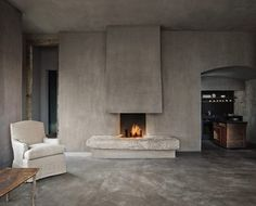 The penthouse on top of Robert De Niro's Tribeca Greenwich Hotel, New York City. Axel Vervoordt commissoned Dankers Decor to take care of mural paintings and flooring, as he had in mind to create the Wabi-Sabi style interior of the Tribeca Greenwich...