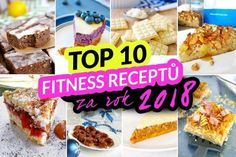 TOP 10 fitness receptů za rok 2018 by Bajola Top Fitness, My Fitness Pal, Fitness Tips, Clean Eating Recipes, Healthy Recipes, Fitness Certification, Apple Health, No Equipment Workout, Workout Programs