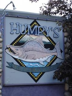 Humpy's bar and restaurant in Anchorage, Alaska is a local favorite watering hole in downtown.