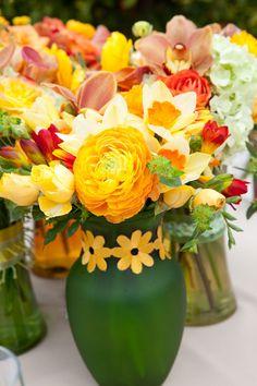 Marianne Lozano Photography via CeremonyBlog.com #centerpieces