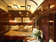 Train cabin on the Pride Of Africa Ideas for train car cabin at Adventures Unlimited Outdoor Ceter