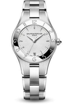 Découvrez la montre quartz femme avec bracelet interchangeable Linea 10070,  conçue par Baume et Mercier 6ed05938da5