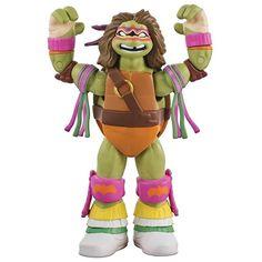wwe Donatello embraces the spirit of The Ultimate Warrior in Teenage Mutant Ninja Turtles' #WWE Ninja Superstars Series 2 action figures! #TFNY  2017/02/20 09:25:25
