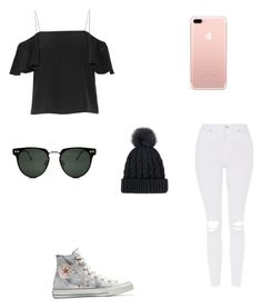 """Untitled #10"" by havynj on Polyvore featuring Fendi, Topshop, Converse and Spitfire"