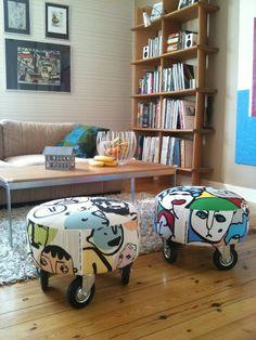 IKEA Hackers: Pimped Haparanda stools
