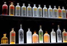 "Home Bar Light Shelves - 2' Long RGB LED Illuminated Bottle Shelf - 4.5"" Wide: Amazon.ca: Home & Kitchen"