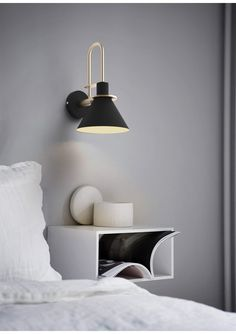 Black Oklak Light Fixtures On Wall will make your decoration shine ! Combining a Golden brass and black metal, this luminaire is designed to be warm and trendy. Wall Mount Light Fixture, Wall Mounted Light, Light Fixtures, Bedside Lighting, Wall Sconce Lighting, Wall Sconces, Bedside Wall Lights, Black Wall Sconce, Bedroom Lighting