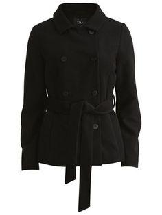 FEMININE SHORT JACKET #vilaclothes #jacket