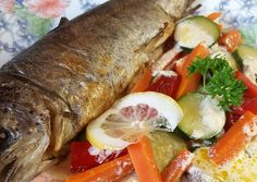 Fresh Rolls, Bacon, Food And Drink, Fish, Chicken, Ethnic Recipes, Pisces, Pork Belly, Cubs