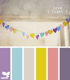 Take paint samples and cut out shapes