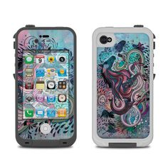 Lifeproof iPhone 4 Case Skin - Poetry in Motion by Mat Miller | DecalGirl
