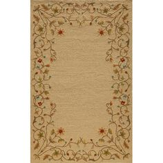 Found it at Wayfair - Fleurance Beige Indoor/Outdoor Area Rug