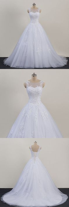 Wedding Dresses: New Lace White/Ivory Wedding Dress Bridal Gown Custom Size 4 6 8 10 12 14 16 18+ -> BUY IT NOW ONLY: $145.0 on eBay!