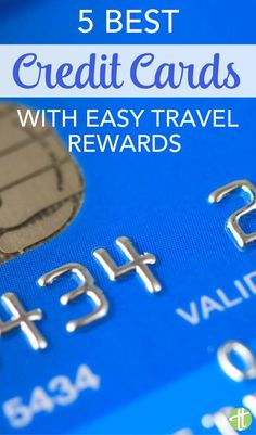 Want to earn frequent flyer miles and points for free travel? These easy travel rewards cards don't require expert travel hacking - perfect for busy family travelers. Free Travel, Budget Travel, Travel Tips, Travel Ideas, Credit Card Points, Best Credit Cards, Travel Rewards, Travel Information