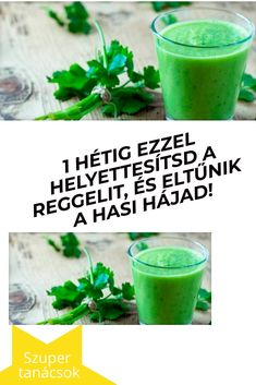 1 hétig ezzel helyettesítsd a reggelit, és eltűnik a hasi hájad! Natural Teething Remedies, Natural Remedies, Health Diet, Health Fitness, Drying Herbs, Homeopathy, Herbal Medicine, Herbal Remedies, Healthy Drinks