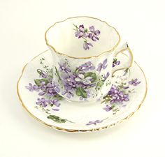 Vintage Hammersley Tea Cup and Saucer by ChatsworthVintage on Etsy, $27.50