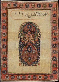 Persian Fereghan rug, late 19th c